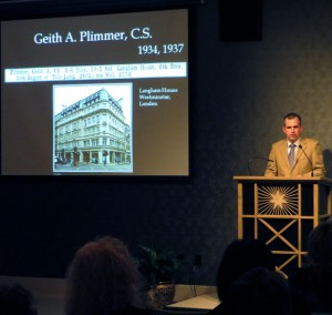PAST EVENT: Historical Lecture Series – February 2013