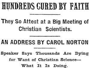 """The New York Times, May 29, 1899"""
