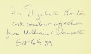 """Inscription by William McKenzie in Christ My Refuge, Daystar Collection"""