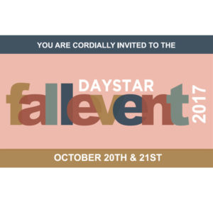 PAST EVENT: Fall Event 2017